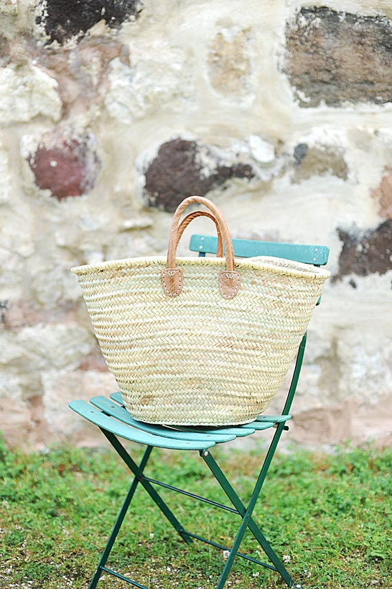 French Market Basket 'Foxglove'
