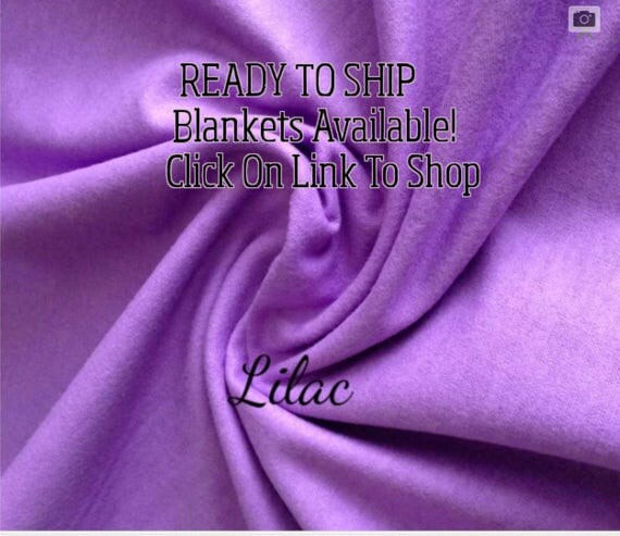 Solid Color, Weighted Blanket, Lilac, Up to Twin Size 3 to 15 Pounds.  SPD, Autism, Weighted Blanket.