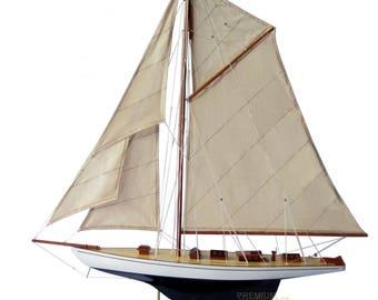 """32"""" Defender Sailing Boat Model"""