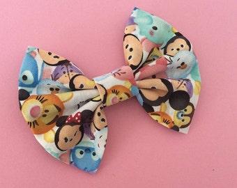 Disney Tsum Tsum bow, Tsum Tsum headband