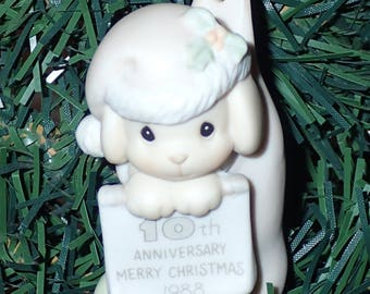 Precious Moments 1988 You Are My Gift Come True Christmas Ornament #520276