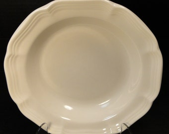 "Mikasa French Countryside Salad Plate 8"" White Dessert F9000 EXCELLENT!"