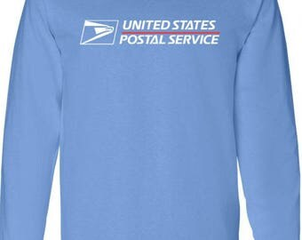 USPS Long Sleeve brand new Carolina Blue BUY 2 get 1 FREE promotion! All sizes available