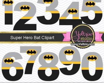 Batman clipart numbers superheroes superhero super boy logo age digital clip art png images hero heroes cute digiscrap supplies scrap