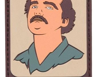"""Pablo Escobar """"Narcos"""" Tactical 3D PVC Patch"""