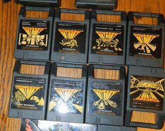 9 Vintage Odyssey (2) Games~Also 2 Controllers for The Magnavox Odyssey (2) Game System~9 Original Video Game Cartridges~1970's and 1980's~