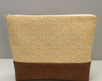Butter Yellow Cosmetic Bag/Wet Bag