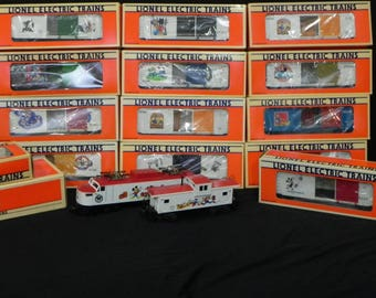 Lionel Trains #6-18311 Disney Mickey Mouse Complete 15Pc Express Train Set 1991-1996....All Are Brand New in the Box!