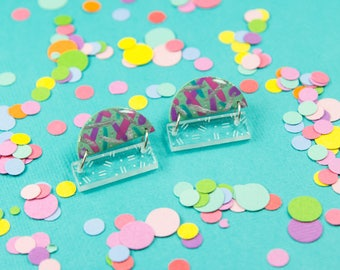 Dashed Statement Studs