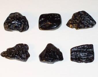 Tibetan Tektite - Tektite - Synergy 12 - (Approx. - .9 inch long / 2.2 cm)