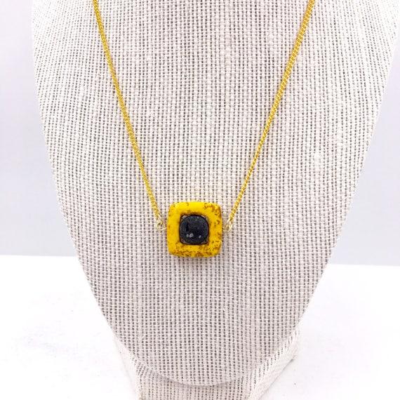 Essential Oil diffuser necklace, black lava bead, diffuse Necklace, Girlfriend Gift, lava bead necklace, diffuser necklace, minimalist lava