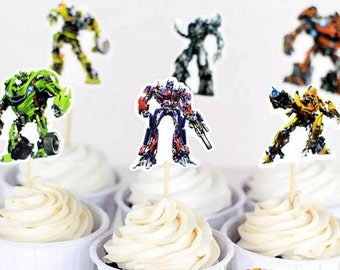 Transformers Cupcake Toppers 12pcs  S70