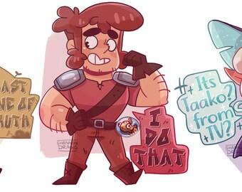 TAZ - Stickers