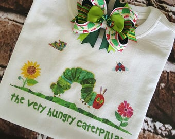 Hungry Caterpillar Embroidery Design Rumahbettorcom