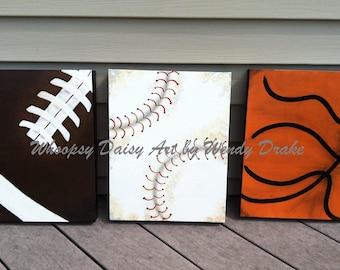 Charmant Boy Sports Wall Art, Nursery Sports Wall Art, Nursery Sports Decor Boy,  Sports