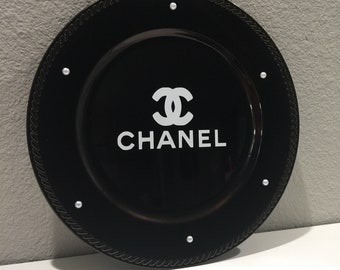 Chanel inspired charger