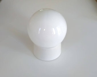 Salt!!! Vintage milk glass ceiling light/lamp white wall/ceiling Lamp/milk glass ceiling light