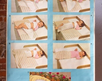 Wall Chart, How to change a baby, 1961