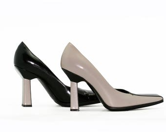 Two-tone Prada shoes