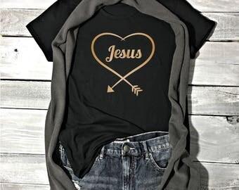 Jesus Shirt - Faith Shirt - Faith Tees - Christian Apparel - Christian Shirts - Religious Shirts - Faith