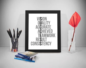 Success Poster, Success Prints, Success Quotes