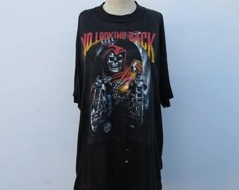 0718 - No Looking Back - Grim Reaper T shirt