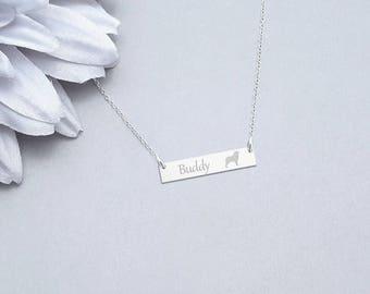 Australian Shepherd Necklace, Dog Necklace , Shepherd Necklace, Animal Necklace, Personalized Dog Lover Gift