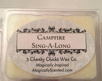 Campfire Sing-A-Long Wax Melt,Camp Wilderness, Disney Inspired