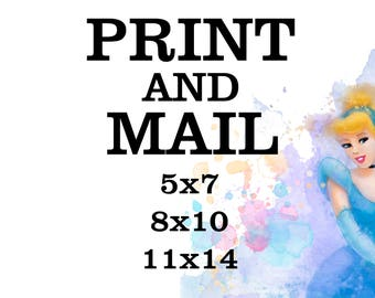 Print and Mail, Printing Service, Print any Design, Printing Shop, Print Service, Art Print, 8x10 Print and mail, Print paper, Digital print