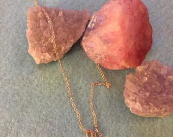 Luna Necklace (Rose Gold plated)