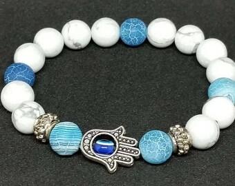 bracelet yoga zen genuine gemstone gift for her gift for him Valentine day