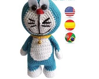 Pattern Doraemon Amigurumi