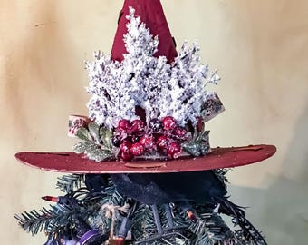 Witch Hat Tree Toppers