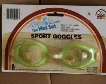 Vintage Sport Goggles