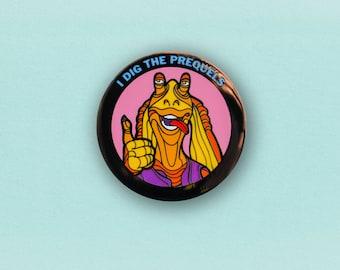 Star Wars Prequel Enamel Pin - Jar Jar Binks lapel pin
