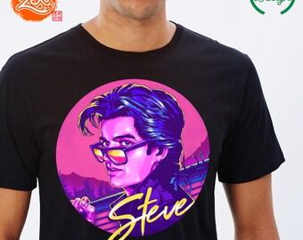 Unisex/Mens: Stranger Things 2 / Stranger Things Shirt / Steve Harrington / Baby Sitter Steve / Baseball Badass / Farrah Fawcett Hair