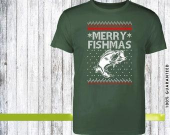 Merry fishmas, christmas, christmas gift, christmas presents, christmas, christmas sweater, christmas gift ideas, christmas shirts, gift