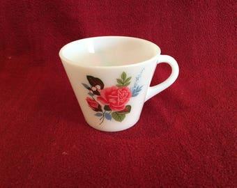 Pyrex JAJ Cottage Rose Tea Cup