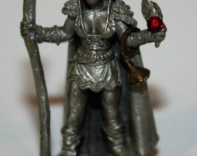 Vintage DUNGEONS & DRAGON Pewter Figurine Ral Partha 1988 Miniature PP253 TSR