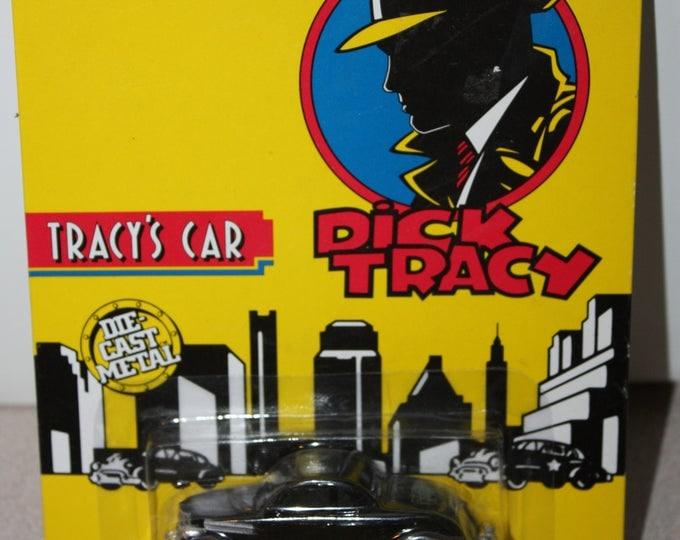 ERTL Dick Tracy Car Die-Cast Metal 1:64 Scale MOC 1990