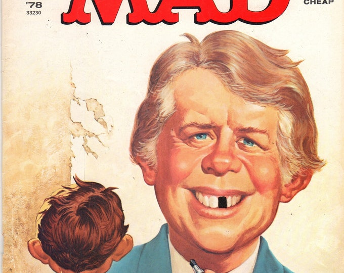 MAD Magazine #197 Jimmy Carter March 1978 Issue