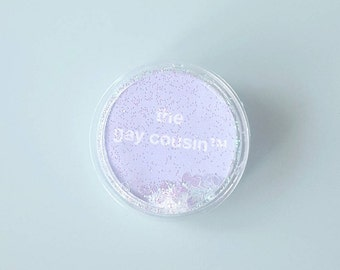The Gay Cousin™ Confetti Pin