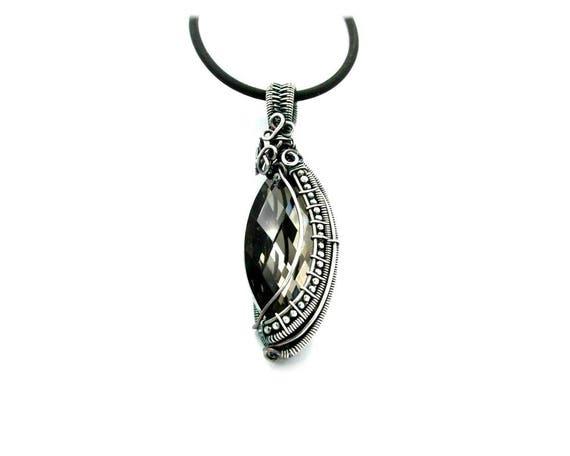 Berauschenden Draht wickeln Boho Halsketten für Frauen Draht