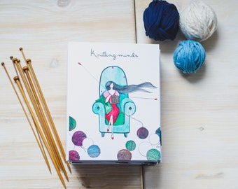 Knitters planner,Knitting notebooks,Yarn gifts knitting,Knitting planner,Knitting journal,Gift for knitter,Knitter gifts,Knitting gift,Yarn