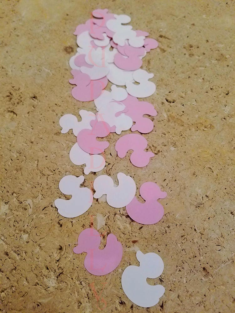 Baby girl shower decoration handcrafted in 2 3 business for Baby confetti decoration