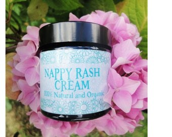 Nappy Rash Baby Cream - 100% Natural and Organic - Diaper cream - Baby Rash Cream