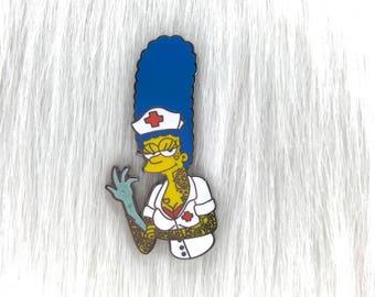 Nurse Marge - Enamel Pin - Limited Edition - V5