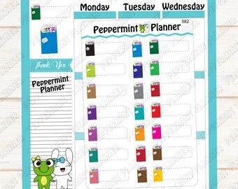 Happy Mail --- Planner Stickers --- Track your Happy Mail --- 582