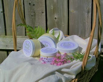 Baby Balm - tallow & herbal infused oils: for kids and babies