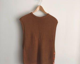 Vintage 1960s Knit Vest